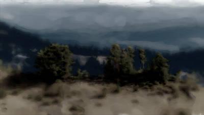 Digital Art - Grey Mist by Richard Baron