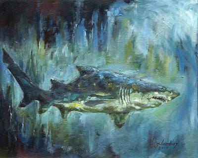 Grey Nurse Shark Original by Grant Lounsbury