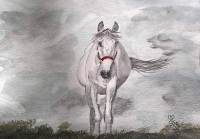 Painting - Grey On Grey by Carole Robins