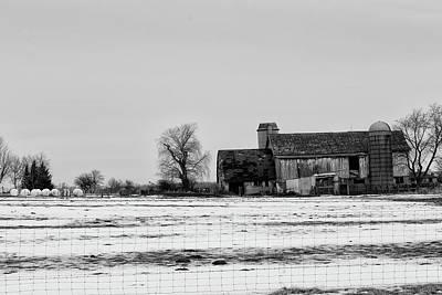 Photograph - Grey On Grey On White by CJ Schmit