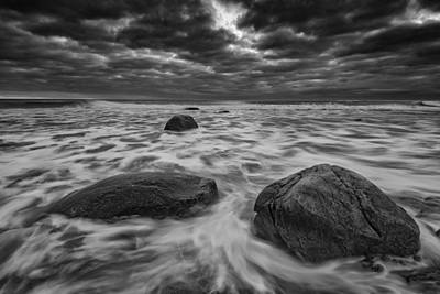 Photograph - Grey Skies At Montauk Point by Rick Berk