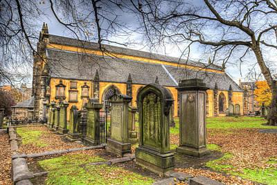 Photograph - Greyfriars Kirk Church by David Pyatt
