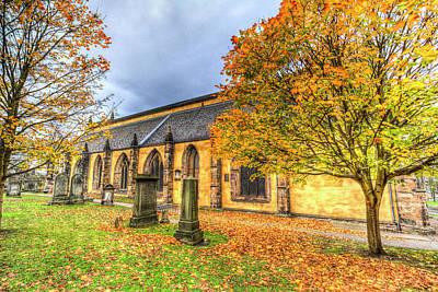 Scottish Dog Photograph - Greyfriars Kirk Church Edinburgh by David Pyatt