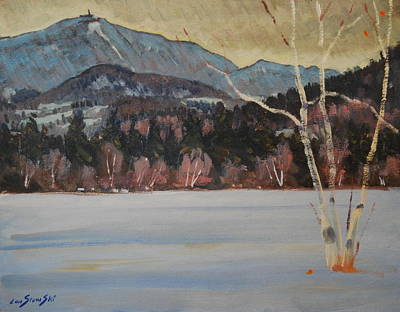 Painting - Greylock From The Martin Farm by Len Stomski