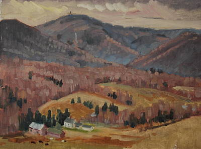 Painting - Greylock From The West by Len Stomski