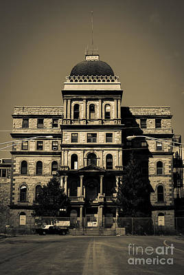 Greystone - Picking Up Or Dropping Off Art Print by Jeffrey Miklush