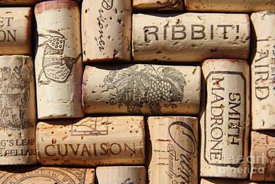 Fine Wine Photograph - Grgich Cabernet by Anthony Jones