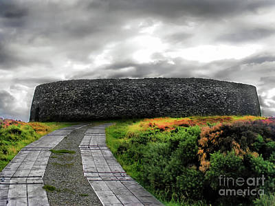 Photograph - Grianan Fort by Nina Ficur Feenan