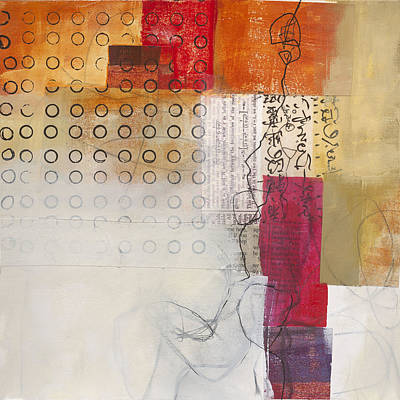 Grid Painting - Grid 10 by Jane Davies