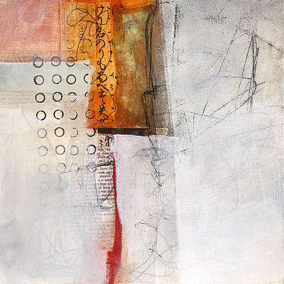 Grid Painting - Grid 8 by Jane Davies