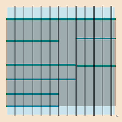 Painting - Grid Abstract by Gary Grayson