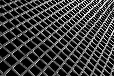 Photograph - Grid Pate by Bill Kellett