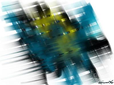 Painting - Gridlock by Frances Ku