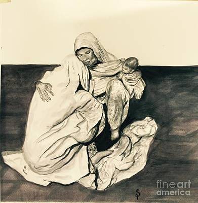 Painting - Grief by Gita Vasa