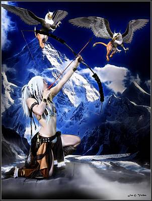 Painting - Griffin Archer by Jon Volden