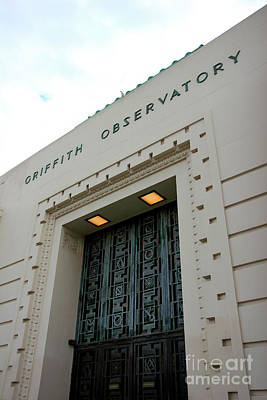 Photograph - Griffith Observatory by Chiara Corsaro