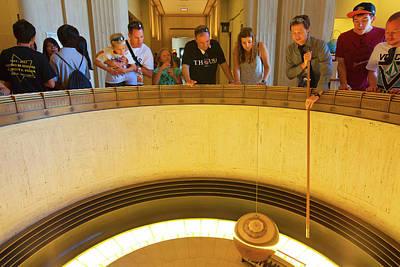 Photograph - Griffith Observatory - Foucault Pendulum by Ram Vasudev