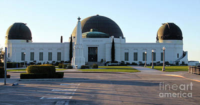 Photograph - Griffith Observatory by Gregory Dyer