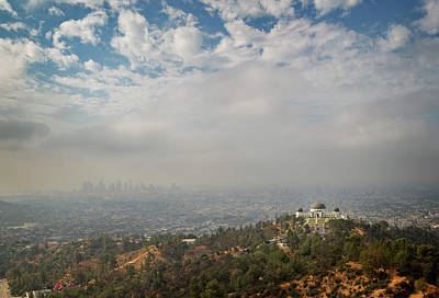 Photograph - Griffith Observatory II by Ricky Barnard
