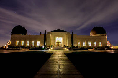 Photograph - Griffith Observatory by Robert Aycock