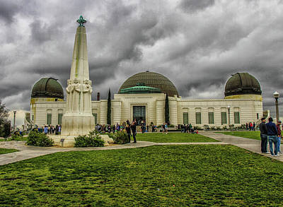 Photograph - Griffith Observatory by Robert Hebert