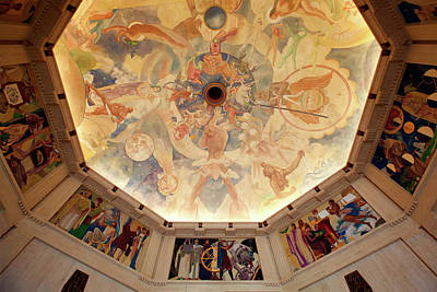 Photograph - Griffith Observatory Rotunda Art by Ram Vasudev