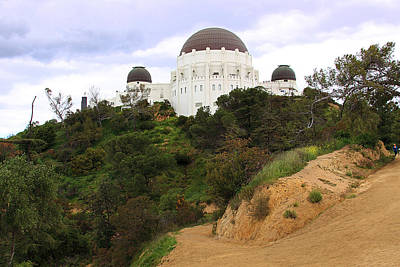 Photograph - Griffith Observatory by Viktor Savchenko