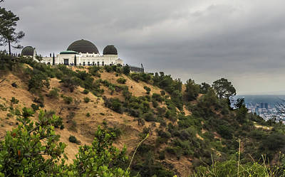 Photograph - Griffith Park Observatory by Ed Clark