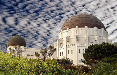 Photograph - Griffith Park Observatory by Endre Balogh