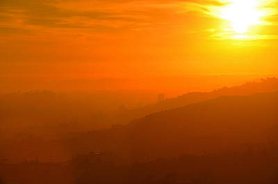 Photograph - Griffith Park Sunset by Braden Moran