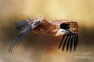 Digital Art - Griffon Vulture by Suzanne Handel