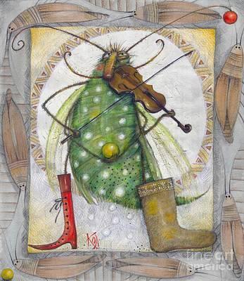 Violine Painting - Grig by Elena Panova