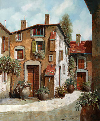 Painting Rights Managed Images - Grigi E Luce Royalty-Free Image by Guido Borelli
