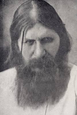 Mad Monk Drawing - Grigory Yefimovich Rasputin 1872 To by Vintage Design Pics