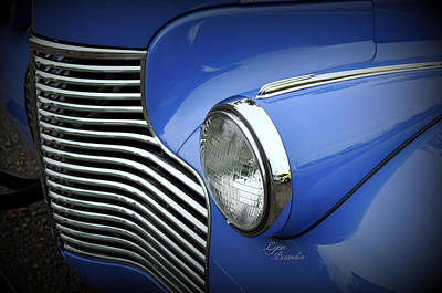 Photograph - Grill And Headlight by Lynn Bawden