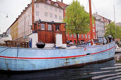 Quiet Time Corner Photograph - Grill Me Copenhagen by Betsy Knapp