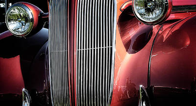 Art Print featuring the photograph Willys Grill by Scott Kemper