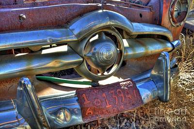 Photograph - Ford Grille by Tony Baca