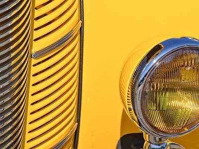 Photograph - Grilled Chrome To Yellow by Gary Karlsen