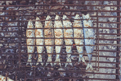 Grilled Fish Photograph - Grilled Fish by Happy Home Artistry