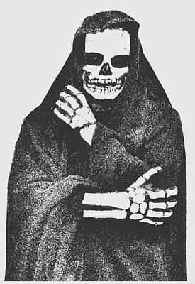 Reaper Mixed Media - Grim Reaper 2 by Otis Porritt
