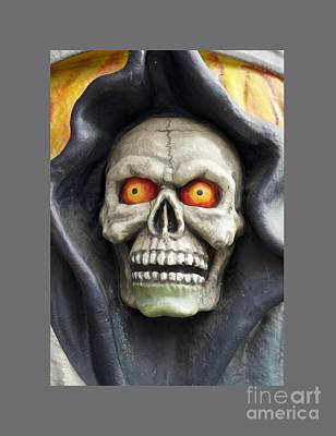 Reaper Mixed Media - Grim Reaper by Frederick Holiday