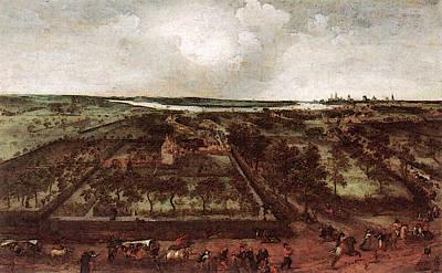 Grim Digital Art - Grimmer Jacob View Of Kiel by Jacob Grimmer