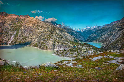 Photograph - Grimsel Pass by Hanny Heim