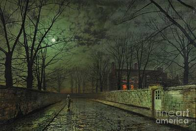 Grimshaw Painting - Grimshaw Fine Art by MotionAge Designs
