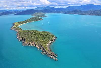Photograph - Grimston Point And Woodwark Bay In The Whitsundays by Keiran Lusk