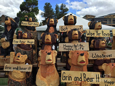 Photograph - Grin And Bear It by Beth Saffer