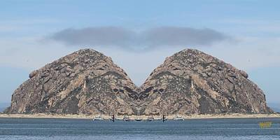 Grinch Of The Rock In Morro Rock Art Print by Gary Canant