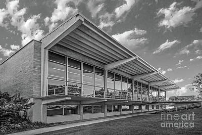 Grinnell College Burling Library  Art Print by University Icons