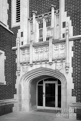 Photograph - Grinnell College Doorway by University Icons